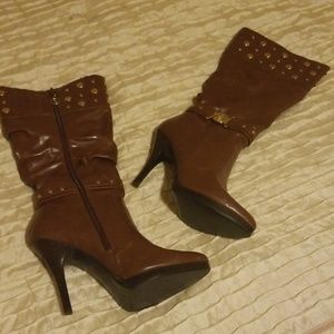 Baby Phat knee high boots